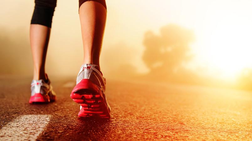 Nike Running And Sunrise Hd Wallpaper Wallpaperfx