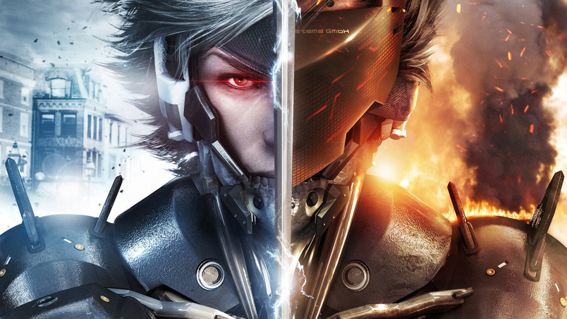 Raiden Metal Gear Rising Revengeance wallpaper
