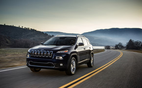 Jeep Cherokee 2014 Edition wallpaper