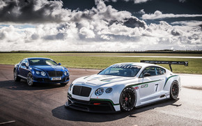 Bentley Continental GT3 Racer wallpaper