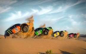 X-raid Mini Countryman Race wallpaper