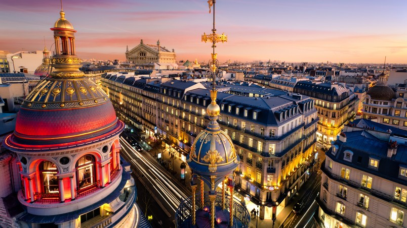 Grand Opera Paris wallpaper
