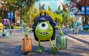 Monsters University Character wallpaper