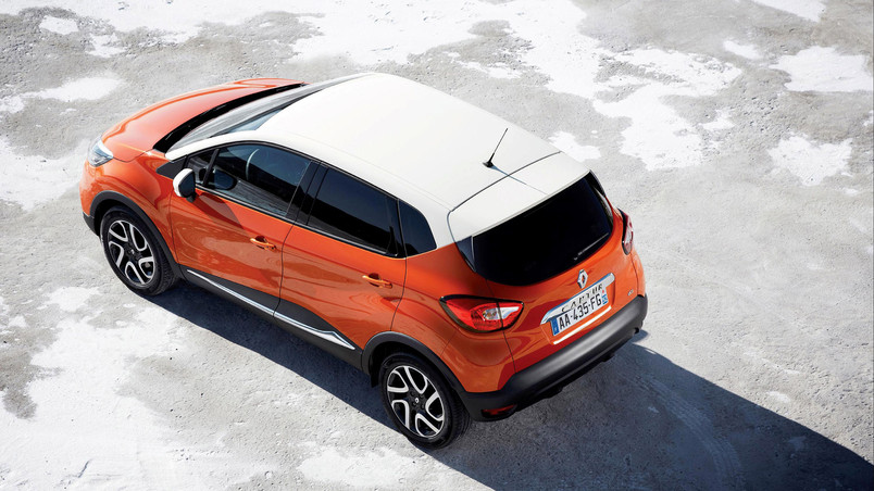 orange renault captur hd wallpaper wallpaperfx. Black Bedroom Furniture Sets. Home Design Ideas