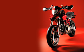 Ducati Hypermotard Red wallpaper