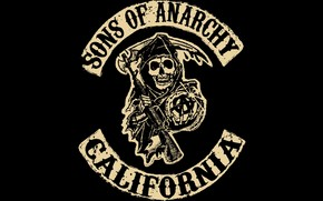 Sons of Anarchy Logo wallpaper
