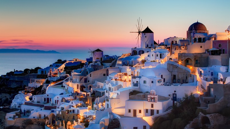 Beautiful Wallpaper Night Greece - preview_night-in-santorini  Image-84192.jpeg