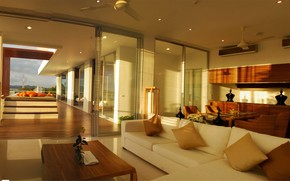 Penthouse Living Area wallpaper