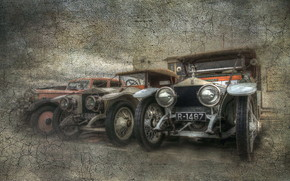 Vintage Car Poster wallpaper