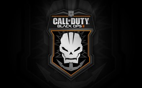 Call of Duty Black Ops 2 Logo wallpaper