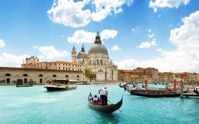 Cathedral of Santa Maria della Salute wallpaper