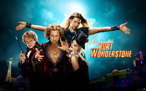 2013 The Incredible Burt Wonderstone Poster wallpaper