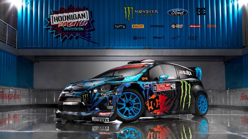 Ford Fiesta Monster Ken Block Hd Wallpaper Wallpaperfx