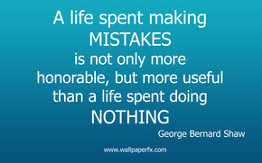 George Bernard Shaw Life Quote wallpaper