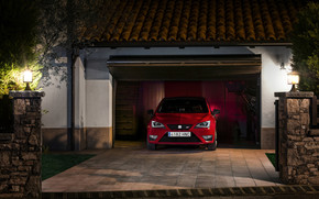 Red Seat Ibiza Cupra 2013 wallpaper