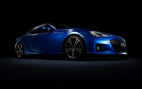2013 Subaru BRZ Blue wallpaper