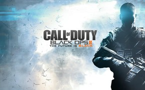 Call of Duty Black Ops 2 Future Black wallpaper
