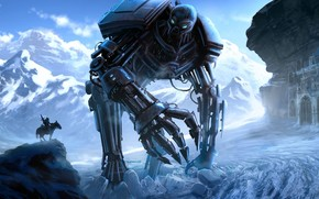 Huge Robot Monster wallpaper