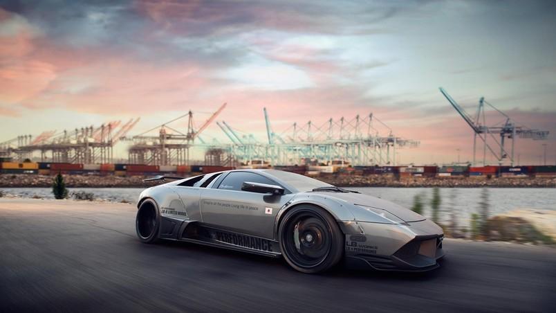 Lamborghini Murcielago Tuning Hd Wallpaper Wallpaperfx
