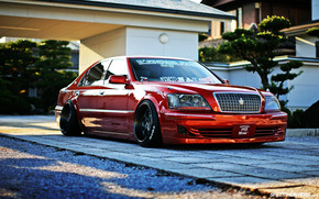 Toyota Crown Majesta Tuned wallpaper
