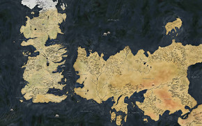 Map Game of Thrones wallpaper