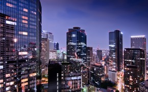 View of Tokyo City wallpaper