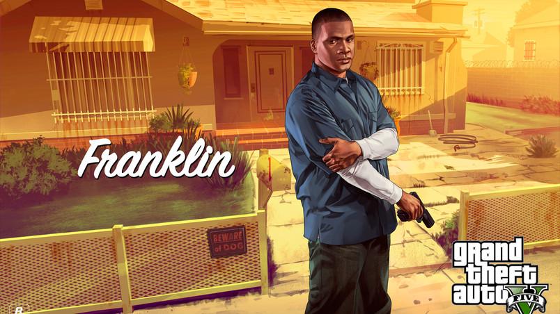 Franklin Gta 5 Hd Wallpaper Wallpaperfx