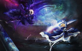 Fate Stay Night Fight wallpaper