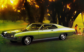 1971 Ford Torino 500 wallpaper