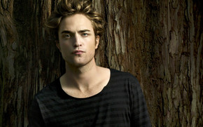 Handsome Robert Pattinson wallpaper