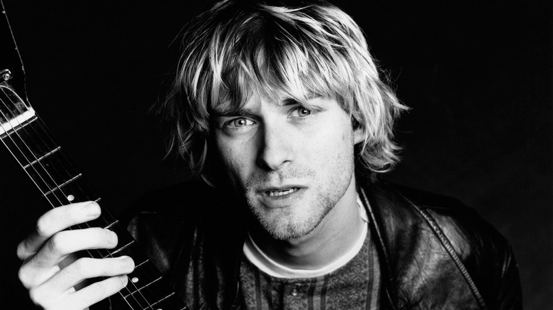 Kurt Cobain Nirvana Hd Wallpaper Wallpaperfx