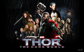Thor The Dark World 2013 wallpaper
