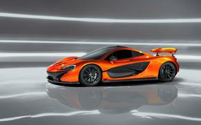 Orange McLaren P1 Concept