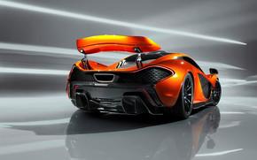 Rear of McLaren P1 Concept