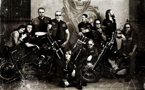 Sons of Anarchy Television Drama wallpaper
