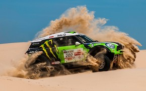 Mini Cooper Dakar X-raid wallpaper