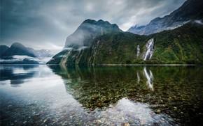 New Zealand Lake Landscape