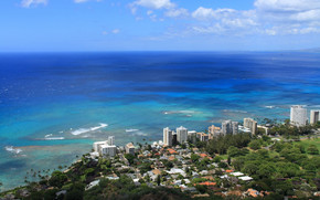 Honolulu Hawaii Landscape wallpaper