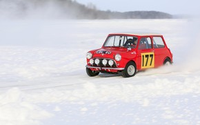Mini Snow Race wallpaper
