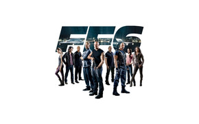 The Fast and the Furious 6 Poster wallpaper