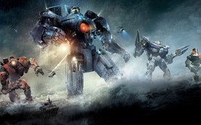 Pacific Rim Robots wallpaper