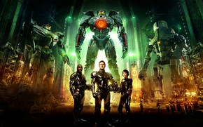 Pacific Rim Characters wallpaper