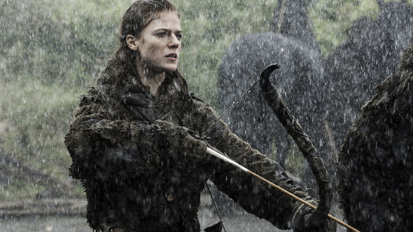Ygritte from Game of Thrones wallpaper