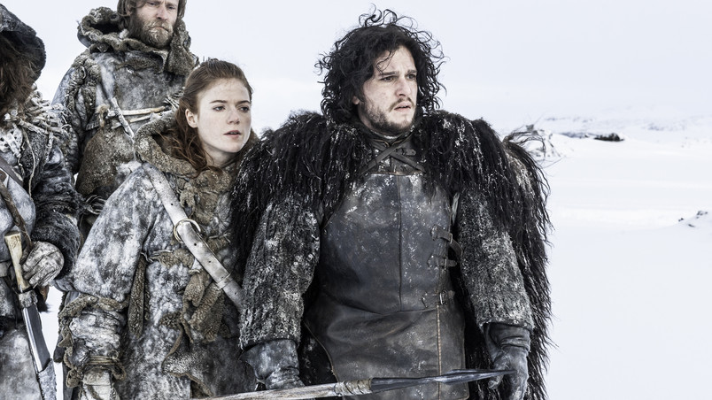 Jon Snow And Ygritte Wallpaper