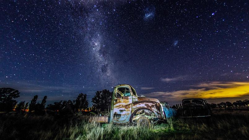 Stargazing wallpaper