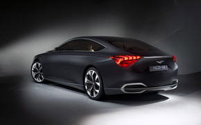 Rear of Hyundai Genesis Concept wallpaper
