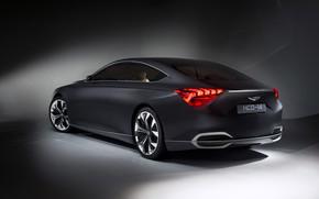 Rear of Hyundai Genesis Concept