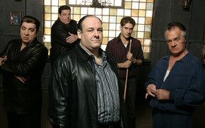 The Sopranos Bad Cast wallpaper