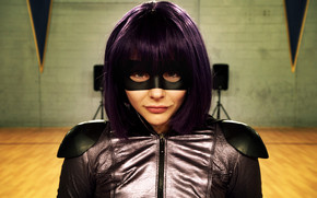 Kick-Ass 2 Chloe Moretz wallpaper