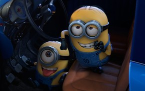 Despicable Me 2 Smile wallpaper
